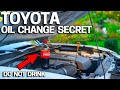 Toyota Oil Change SECRET Exposed
