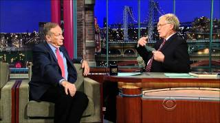 Oreilly on Letterman 2