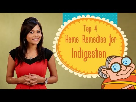Video Heartburn & Indigestion - Top 4 Ayurvedic Home Remedies to Cure Acid Re-flux, Stomach Bloating