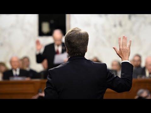 Trump says 'may change mind' on Kavanaugh on eve of Senate hearing