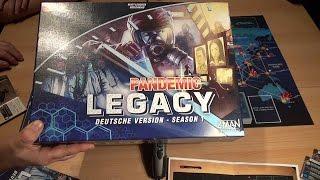 Pandemic Legacy im Test (ZMAN): Rezension von Spiele-Podcast.de