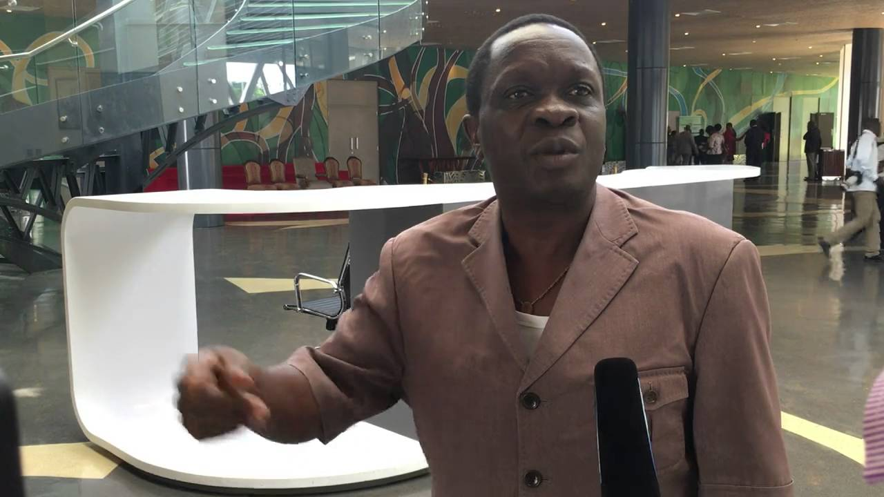 Minister Mwijage speaking about importation of sugar