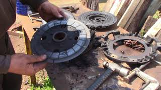 Massey Ferguson 230 Clutch replacement