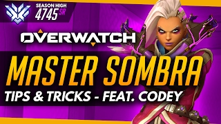 Overwatch   Master Sombra ft CodeyNiku (World #1 Sombra) - Tips and Advice (Guide)