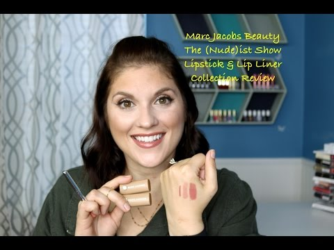 Marc Jacobs The (Nude)ist Show Lipstick & Lipliner Collection
