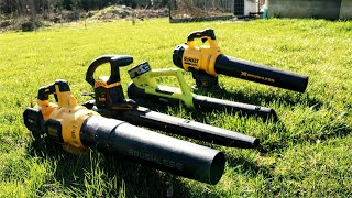 Best leaf Blower options for around the house. Looking at the corded and cordless leaf blowers!