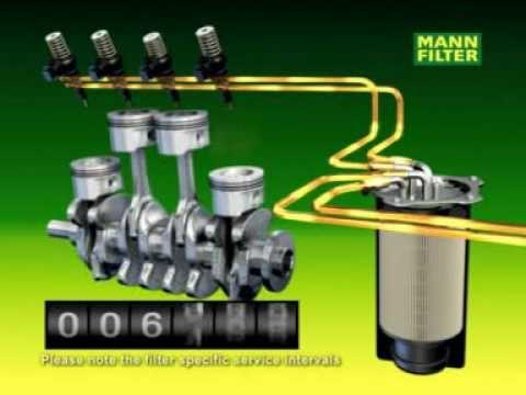 mannfilter fuel filters