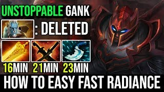 How to Fast Radiance - Midlane Dragon Knight Itemize to Destroy PL illusions By Ramzes 7.20e Dota 2