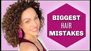MY BIGGEST CURLY HAIR MISTAKES   The Glam Belle