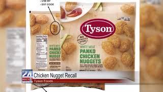 Tyson Chicken Nugget Recall