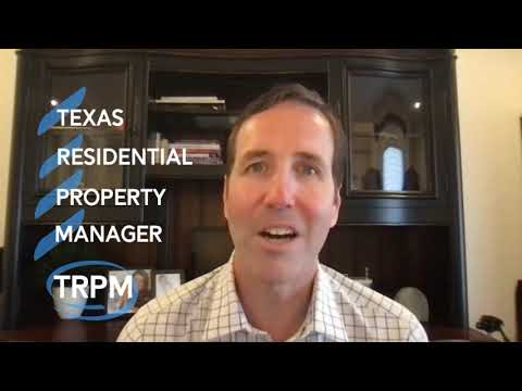 Texas Residential Property Manager (TRPM) Courses Are Back ...