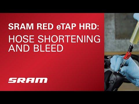 SRAM RED® eTap® HRD: Hose Shortening and Bleed