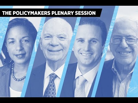 The Policymakers Plenary Session