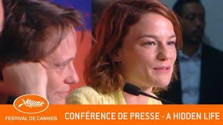 HIDDEN LIFE   Conférence De Presse   Cannes 2019   VF