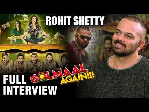 Rohit Shetty | Golmaal Again | Full Interview