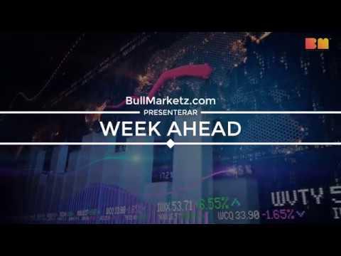 Week Ahead – Vecka 37