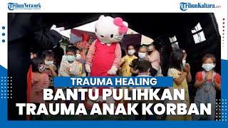 Hilangkan Trauma Anak Korban Kebakaran Rumah di Nunukan, 2 Komunitas Ini Bentuk Posko Trauma Healing