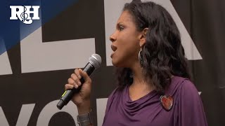 "Audra McDonald sings ""You'll Never Walk Alone"""