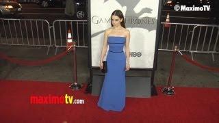 Emilia Clarke, Lena Headey, Stana Katic //  Game of Thrones Season 3 Premiere ARRIVALS