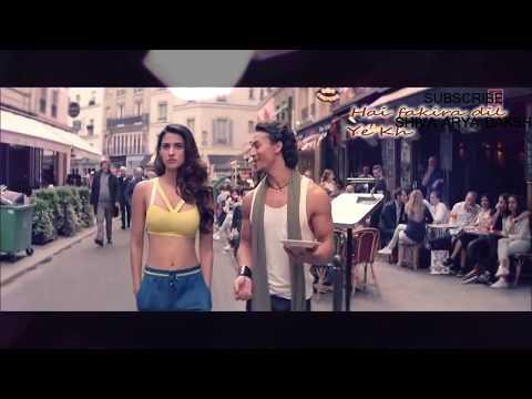 BEFIKRA Full Video Song With LYRICS | Baaghi 2 | Tiger Shroff ~ Disha Pataani | Love Song.