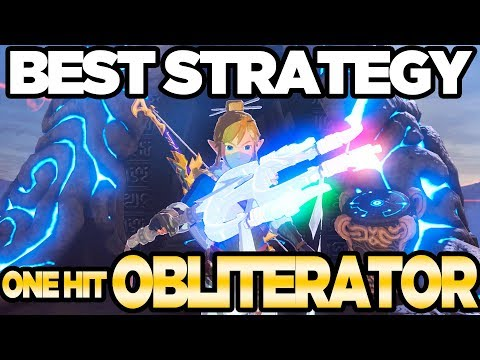 BEST STRATEGY One Hit Obliterater in Breath of the Wild Champions Ballad | Austin John Plays