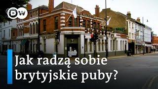 Brytyjskie puby w czasach koronawirusa