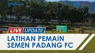 Sehari setelah Iduladha, Pemain Semen Padang FC Langsung Kebut Latihan di Lapangan Mess Indarung