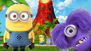Despicable Me 2: Minion Rush The Volcano Evil Minion Secret Area Part 52