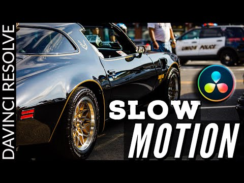 How to Make SLOW MOTION Video in DaVinci Resolve 16
