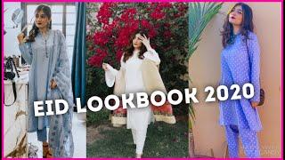 EID LOOK BOOK 2020 | Anushae Says