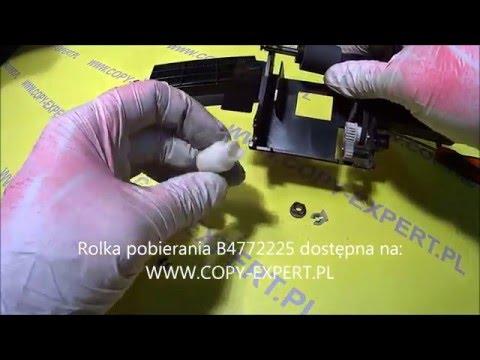 Wymiana rolek w podajniku ADF RICOH AF MP6001 MP7001 MP8001 MP9001 Replacing ADF Roller