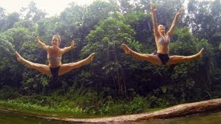 Hayley spends a day with Monica, a young woman from Tropical North Queensland, exploring the ancient rainforest, swimming holes and beaches around Cairns, from the unique perspective of a gymnast.