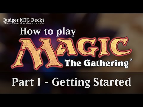 Tutorial – How to play Magic: The Gathering – Part 1: Getting Started