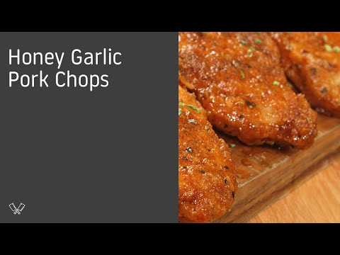Video Honey Garlic Pork Chops
