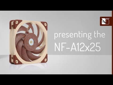 Noctua NF-A12x25 next-generation 120mm fan