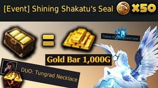 New Shakatu Seals for Golden Bar Box   Daily Dose of Black Desert online