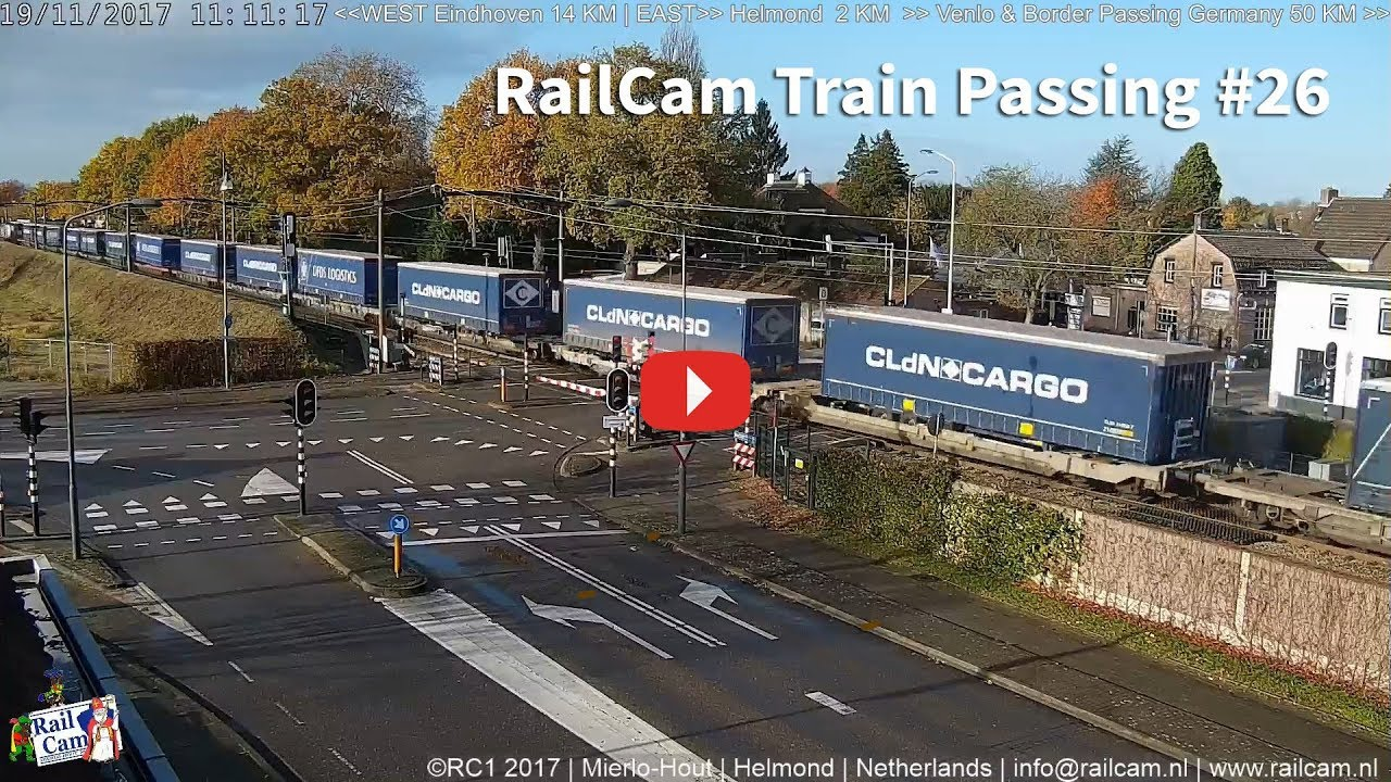 RailCam Passing #26 With More Train Diversions