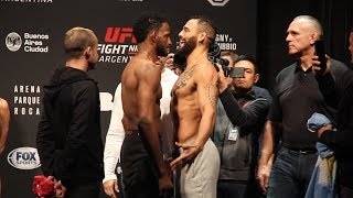 UFC Argentina Ceremonial Weigh-In Highlights - MMA Fighting