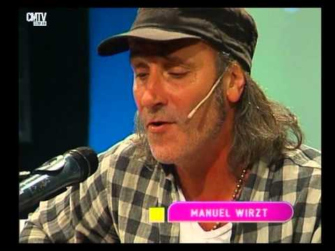 Manuel Wirzt video Dondequiera que estés - Estudio CM - Mayo 2015