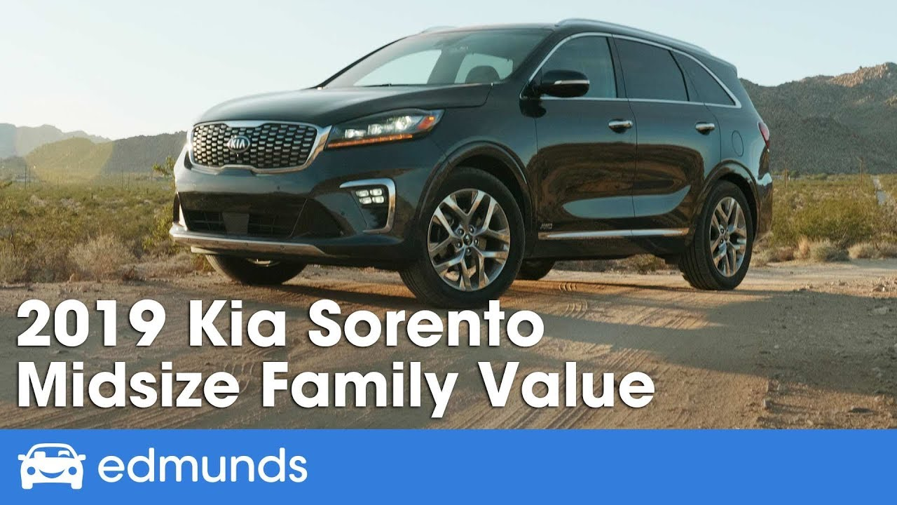 2019 Kia Sorento Pricing Features Ratings And Reviews Edmunds