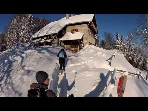 Sončen zimski dan na Mirno goro