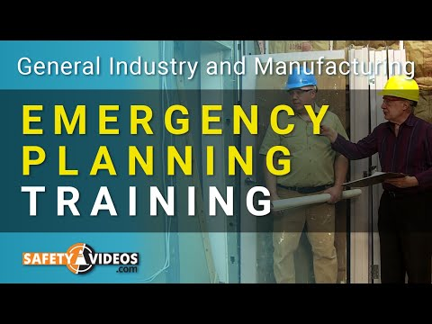 Emergency Planning Training from SafetyVideos.com - YouTube