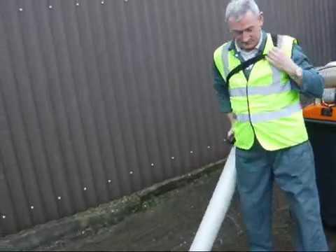 Portatif Yaprak Çöp toplama makinası-Overton HV-120