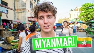 Arriving in MYANMAR - Mandalay   Thailand to Myanmar - First Thoughts