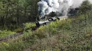Churnet Valley Railway October 2017 Gala 42xx 4277