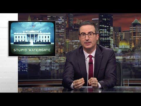 Pokračování hloupé Watergate - Last Week Tonight