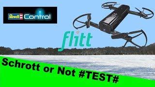 Revell Flitt Selfie Drohne kurzer Test+Review #german#