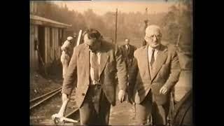 Počátek hloubení šachty Jan 1958