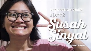 Susah Sinyal Movie - Behind The Scene Day #2