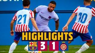 HIGHLIGHTS | Barça 3-1 Girona (MEMPHIS' DEBUT FOR BARÇA!) 🦁